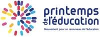 Logo Printemps de l'éducation